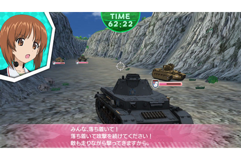 "Anime Magazine: ""Girls und Panzer"" Game Screens Attempt to ..."