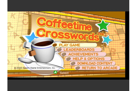 Coffeetime Crosswords Archives - GameRevolution