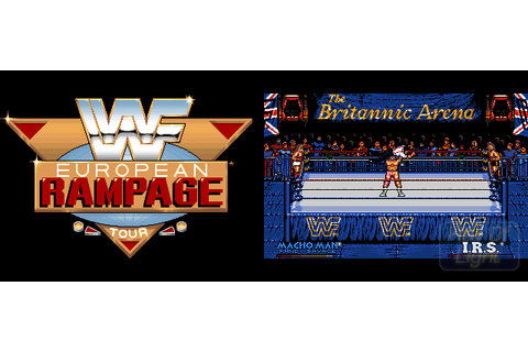 WWF European Rampage Tour : Hall Of Light - The database ...