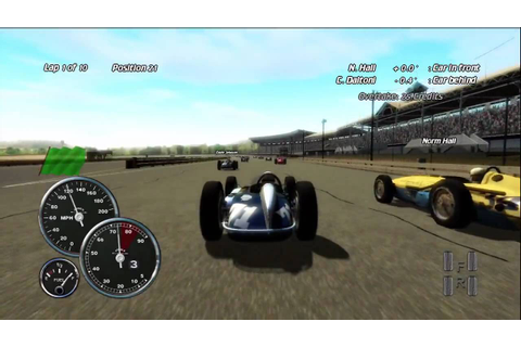 Indianapolis 500 Evolution Xbox-360 (HD) - YouTube