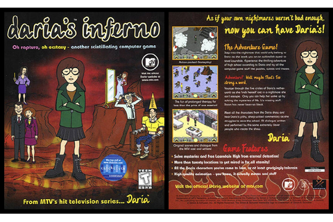 you're a few years overdue... : Daria's Inferno - Game