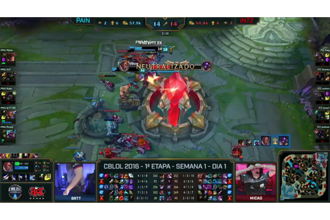 [Spoiler] paiN Gaming vs. INTZ e-Sports / CBLoL 2016 ...