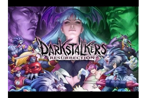 Darkstalkers Resurrection Gameplay PS3 - YouTube
