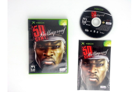 50 Cent Bulletproof game for Xbox (Complete) | The Game Guy