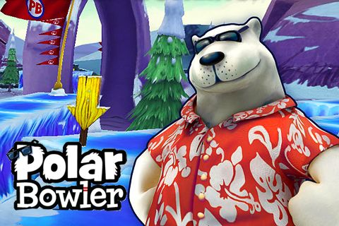 Polar bowler - iPhone game screenshots. Gameplay Polar bowler.