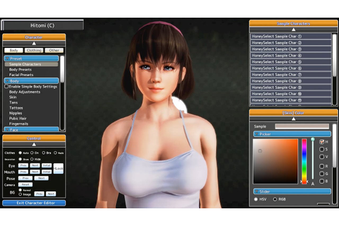 Honey Select | Hitomi - YouTube
