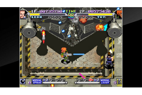 ACA NEOGEO SHOCK TROOPERS 2nd Squad Game | PS4 - PlayStation