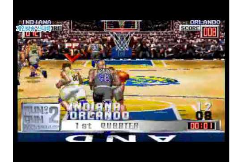 Run And Gun 2 (Slam Dunk 2) [MAME] - YouTube