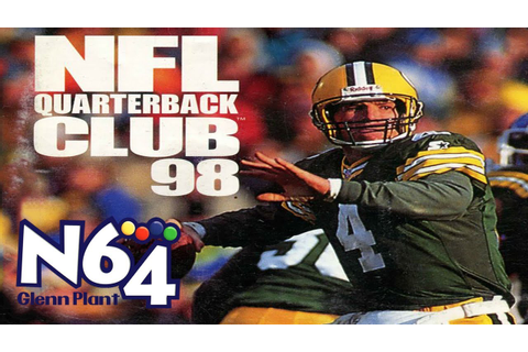 NFL Quarterback Club '98 - Nintendo 64 Review - HD - YouTube