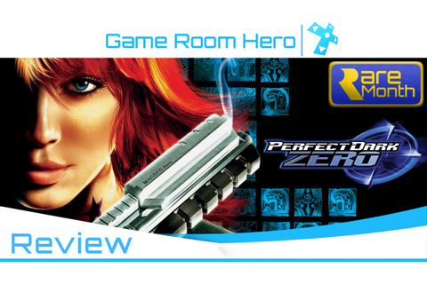 Perfect Dark Zero Xbox 360 Review - Game Room Hero - YouTube