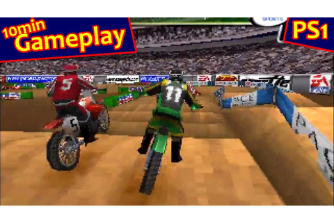 Supercross 2000 ... (PS1) - YouTube