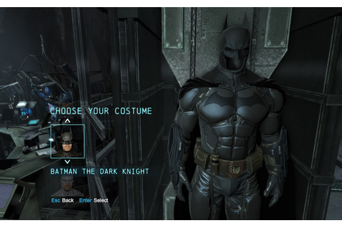 Original Arkham Origins Suit No Damage - Batman: Arkham ...
