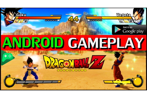 Dragon Ball Z GAME on ANDROID Gameplay [NO ROOT] HD 2017 ...