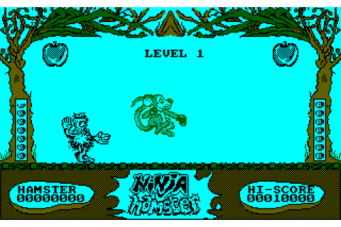 Ninja Hamster (1987) by Wise Owl Software Amstrad CPC game