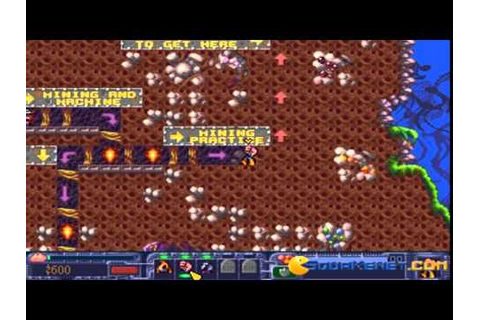 Diggers 2: Extractors gameplay (PC Game, 1995) - YouTube