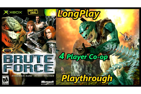 Brute Force - Longplay (4 Player Co-op) Full Game ...