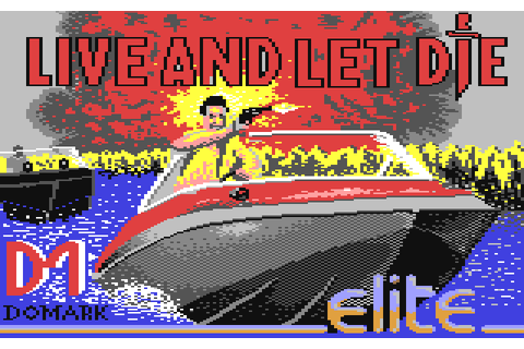 James Bond 007: Live and Let Die (1988) C64 game