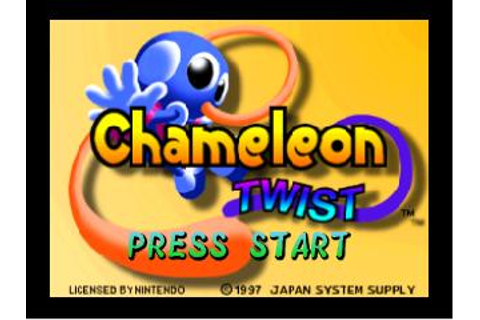 Chameleon Twist Nintendo 64 Game