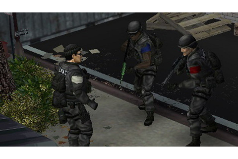 SWAT: Target Liberty Game | PSP - PlayStation
