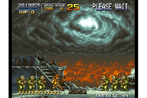 Play Metal Slug 2 - Super Vehicle-001-II Online MAME Game Rom - Arcade ...