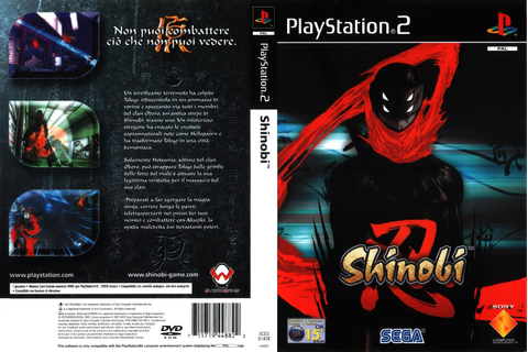 Shinobi - PT BR PS2 - Android X Fusion