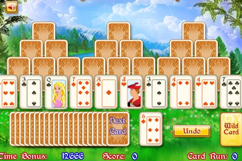 Tri Towers Royal Solitaire Puzzle Game Online