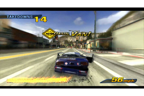 Burnout 3 Takedown HD PS3 - YouTube