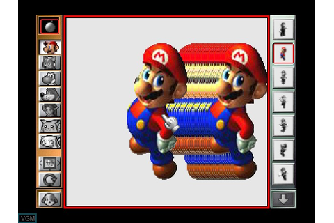 Mario Artist - Paint Studio for Nintendo 64 - The Video ...
