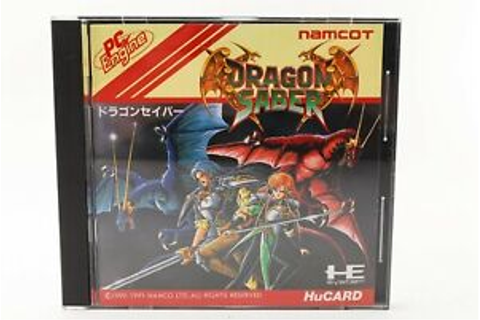 PC Engine Namco Dragon Saber game software F/S ...