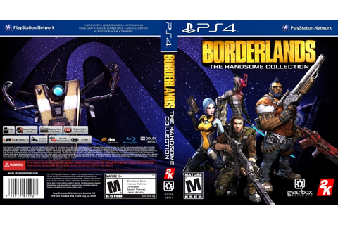 Borderlands The Handsome Collection PlayStation 4 Box Art ...