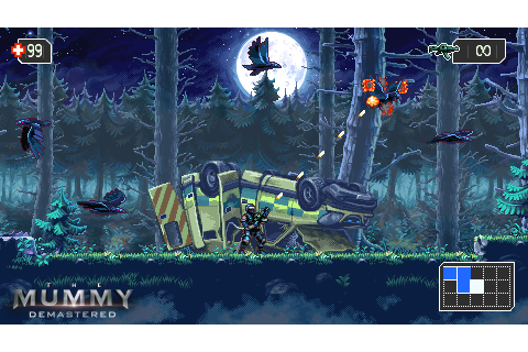 WayForward announces The Mummy: Demastered for consoles ...