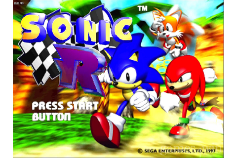 Sonic R Download on Games4Win