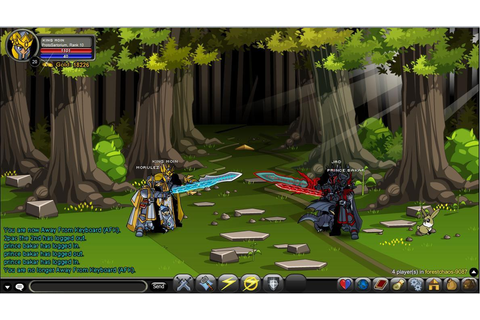 Adventure Quest Worlds - MMO Square