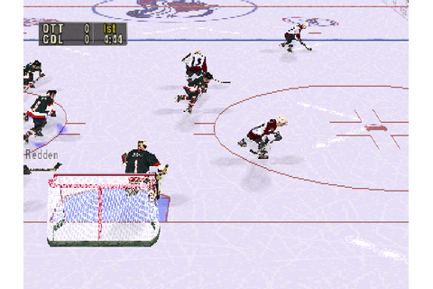 NHL FaceOff 99 – DEAD BALLS' Sports Video Game Reviews