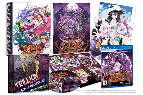 Trillion: God of Destruction limited edition announced ...