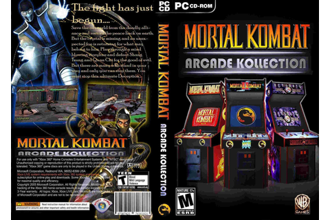 Mortal Kombat Arcade Kollection (2012) Cover Pc ~ Giga In ...