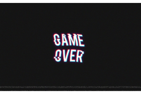 GAME OVER, Video Games, Retro Games, Distortion Wallpapers ...