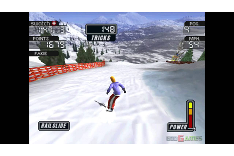 Cool Boarders 3 - Gameplay PSX (PS One) HD 720P ...