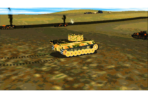 Panzer Commander Tiger Action With Tank Physics Option On ...