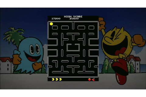 Classic Game Room HD - PAC MAN for PS3 review (Namco ...