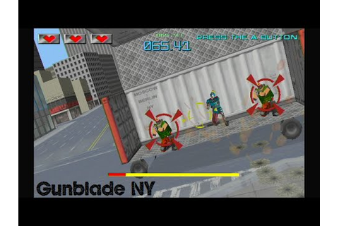 Gunblade NY Playthrough - Wii/Arcade - YouTube