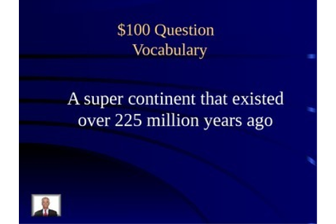 Earth Processes Jeopardy by Holly Sutton | Teachers Pay ...