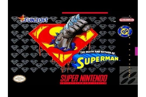 The Death And Return Of Superman Walkthrough Complete Game ...