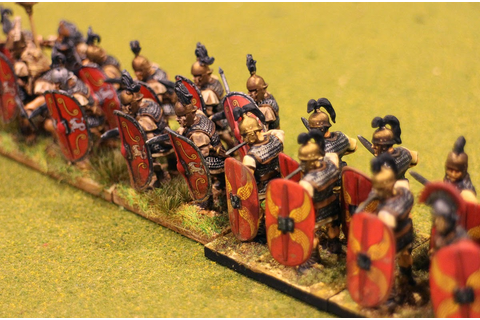 1000 Foot General: Warlord Games Romans vs. Wargames ...