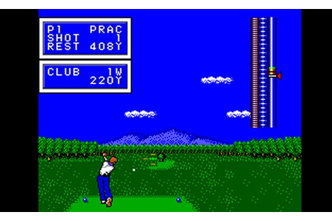 Play Golfamania (Europe) • Master System GamePhD
