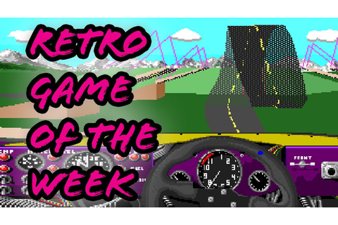 Retro game of the week - Stunts (PC) - YouTube