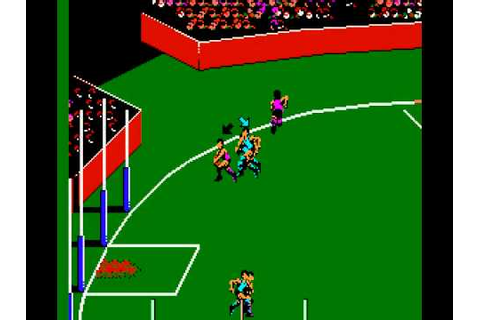 Aussie Rules Footy (Australia) Nintendo NES - YouTube