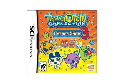 Tamagotchi Connection: Corner Shop 3 Nintendo DS Game ...