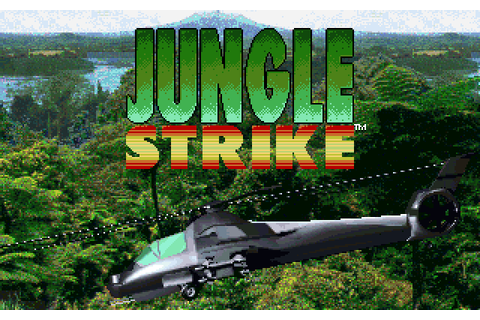 Jungle Strike | DOS Game, Review, Download