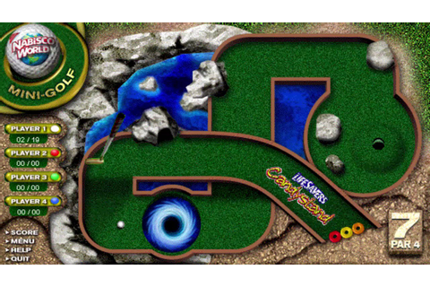 Nabisco/Candystand Mini Golf - Defunct Browser Games - YouTube
